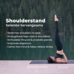 Simple Yoga Poses Shoulder Stand Benefits Images