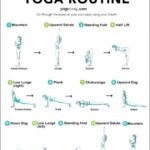 Simple Yoga Poses Sun Salutation Breathing Images