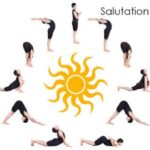 Simple Yoga Poses Sun Salutation Surya Namaskar Images