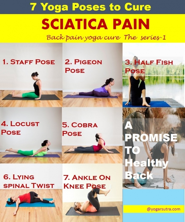 simple yoga poses to avoid with sciatica image