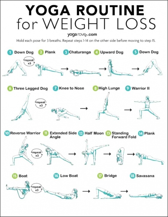 simple yoga sequence for weight loss picture