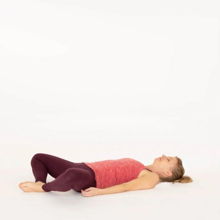 top butterfly yoga pose image