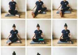 top double pigeon pose yoga image