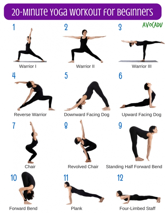 top yoga exercises for beginners picture