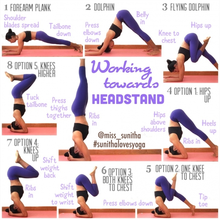 top yoga poses headstand for beginners photos