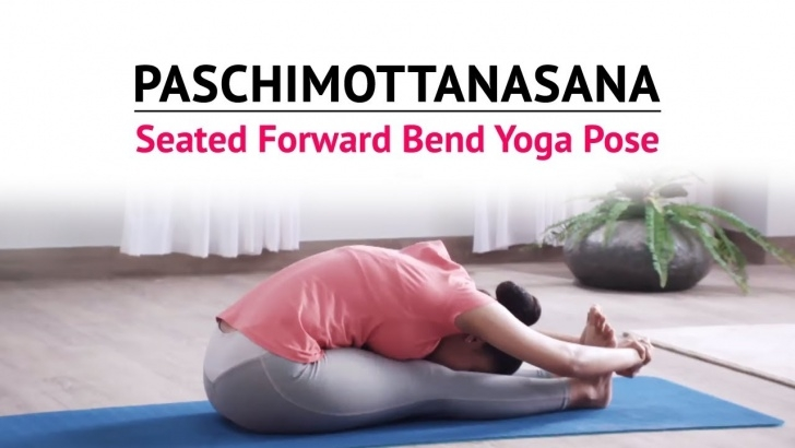 top yoga poses paschimottanasana ke fayde photo