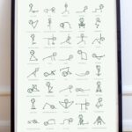 Top Yoga Poses Stick Figures Image